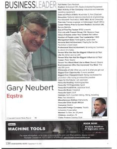 Gary Neubert - jpeg - EIE - Photography Sue Charlton